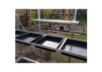 Maatwerk tafel ACD-kas excl zaaikisten / zijkant 519cm