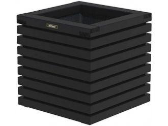 Elan bloembak Excellent 50 zwart - Vuren - 50x50x50 cm