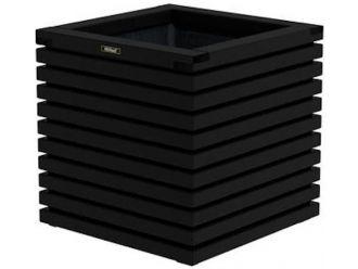 Elan bloembak Excellent 60 zwart - Vuren - 60x60x60 cm