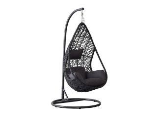 Hangstoel Mona Relax Zwart
