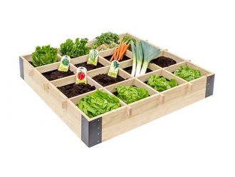 Luxe vierkante meter tuin - 100x100 cm