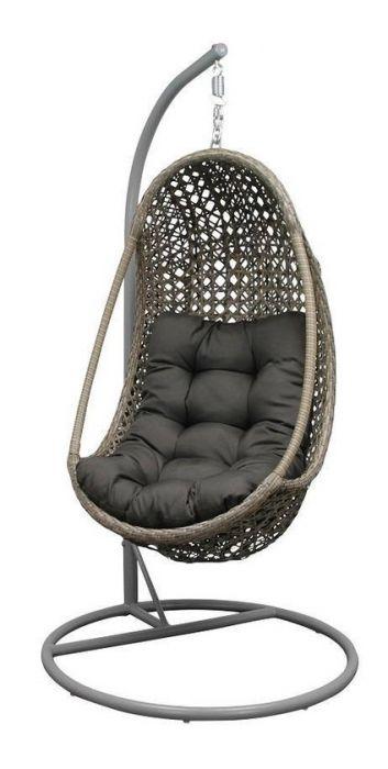 Hangstoel Wit Egg.Hangstoel Egg Chair Funny Sand