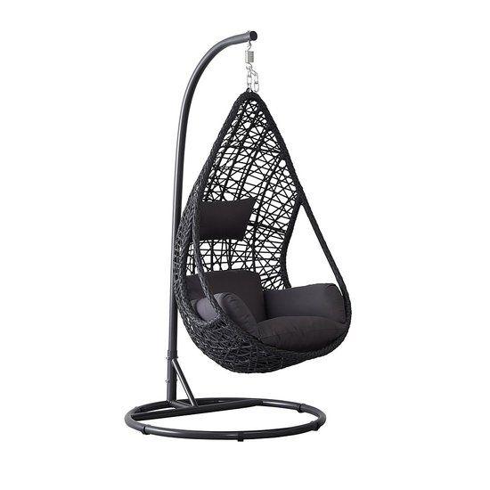 Hangstoel Zonder Frame.Hangstoel Mona Relax Zwart