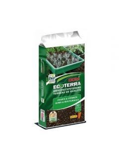 Ecoterra zaai&stekgrond 30 ltr.